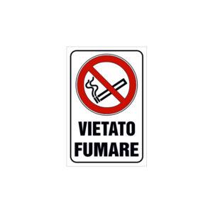 VIETATO FUMARE 120x180 mm