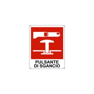 PULSANTE DI SGANCIO 120x145 mm
