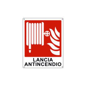 LANCIA ANTINCENDIO 250x310 mm