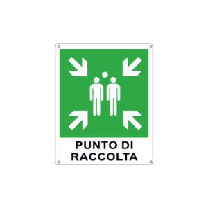 PUNTO DI RACCOLTA 250x310 mm