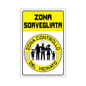 ZONA SORVEGLIATA 200x300 mm