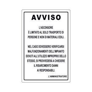 AVVISO ... 200x300 mm